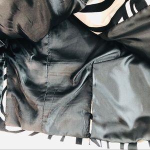Carole Little Jackets & Coats - Carole Little Black & White Jacket 3/4 Sleeves Med